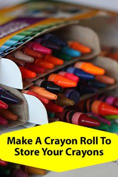 How to Make a Crayon Roll, tutorial for how to Make a Crayon Roll or you can buy a crayon roll if you are not crafty Fun Activities For Kids, Easy Crafts For Kids, New Crafts, Crafts To Make, Arts And Crafts, Diy Craft Projects, Craft Tutorials, Making Crayons, How To Make Something
