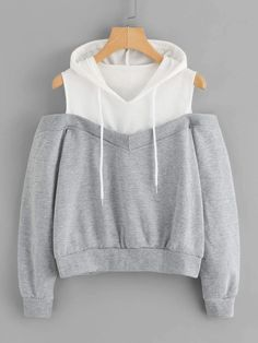 Get comfy now - and never pay too much again! Cold Shoulder Hoodie now on https://mikaree.com #love #ootd #fashion #beautiful #style #girl #mikaree #follow #winter #mikareefashion #outfitoftheday #chic #cute Cold Shoulder, Tumblr Clothes, Cold Shower