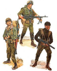 • 2nd Lt., SAYERET GOLANI, 1973  • Recon paratrooper, SAYERET SHAKED, 1973  • Commando, SAYERET MAT'KAL, 1973