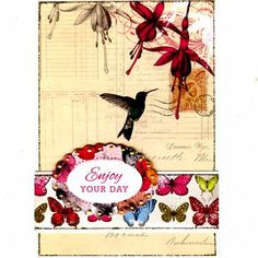 Craftwork Cards - Paradise Collection Pack Make A Wish, How To Make, Craftwork Cards, Rooster, Paradise, Bee, Card Making, Paper Crafts, Birds