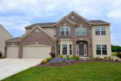 Parkview Homes- Cypress Brunswick, OH 4 Bedrooms 2 1/2 Baths 3130 sq. ft. Award-winning single-family designs with nine foot ceilings on first floor and ability to customize.