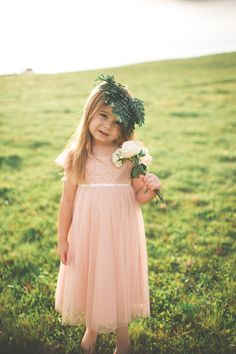 April Flower Girl Dress by @jennyyoo  Photography: Andrea Lowry