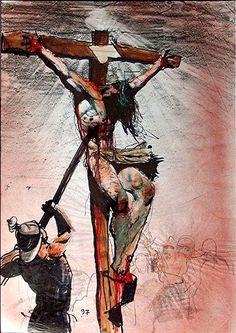 Este, Filho do Homem, DEUS feito criado e mortal, o corpo glorioso ter se feito afetado (pelo corpo do pecado, o sangue), este é aquele YHVH que SE FEZ JESUS, este SENHOR É O QUE VEIO POR ÁGUA e POR SANGUE. E tem gente sem revelação falando do que não sabe; falando do SENHOR JESUS como se NÃO FOSSE O ETERNO, O VERBO, O INCRIADO, O PAI !