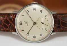 What's Selling Where: Five Just Plain Great Vintage Watches from Omega, Rolex, Longines, Abercrombie  Fitch (well, Heuer), and Eberhard — H...