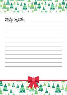 Dopis Ježíškovi letos budeme psát na stylový dopisní papír. V odkazu jsou další 3 verze. Stahuj, tiskni, piš a možná se ti splní tajná přání. #Vanoce #dopisnipapir #dopisJeziskovi #pisemeJeziskovi #milyJezisku #detskaprani #tisk #vanocnicas #vanocniaktivity Origami, Hana, Printables, Cards, Christmas, Advent, Xmas, Print Templates, Origami Paper