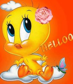 Pinned by sherry decker Cartoon Jokes, Funny Cartoons, Cartoon Characters, Tiny Toons, Tweety Bird Quotes, Naughty Emoji, Baby Looney Tunes, Snoopy Images, Happy Birthday Celebration