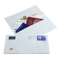 Nieuw! Travelwallet airmail! www.whatsinabag.nl Your Home