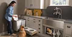 Pet Parlor | Wood-Mode | Fine Custom Cabinetry