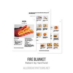 Fire huopa virkku kuvio - Allcrochetpatterns.net