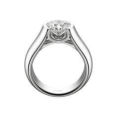 cartier-engagement-rings C de Cartier Solitaire