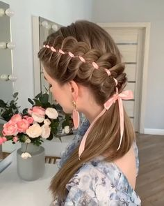 Hairstyle For Girls – Lockige Frisuren
