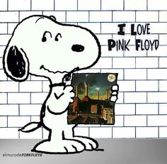 Snoopy loves Pink Floyd