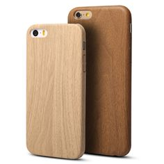 Wooden Pattern Soft TPU Back Cover Case For iPhone 6/6S 4.7 inch Cover For iPhone 6 Plus/6S Plus 5.5 inch Phone Cell #0918