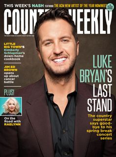 March 16, 2015 issue of Country Weekly featuring Luke Bryan