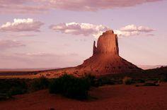 "Don Jorgenson's photo of Monument Valley, Ariz., ""The Mitten"""