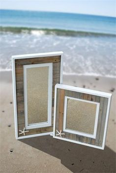 Boardwalk framed mirrors