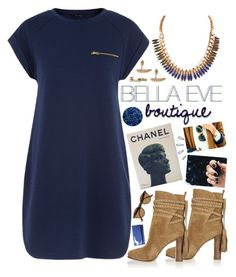 """""""Bella Blues"""" by bellaeve ❤ liked on Polyvore featuring Chanel, Michael Kors, Ray-Ban, Wet Seal, Old Navy, polyvoreeditorial, shopbellaeve and BellaEveBoutique"""