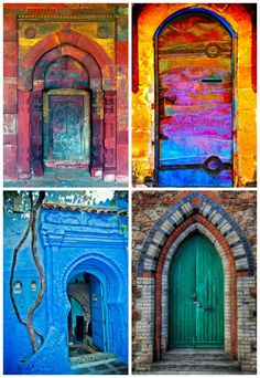 Purely Enchanted : Artistic Doors & Windows!