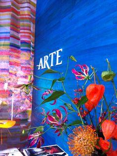 Boracay collectie behang van Arte gemaakt van waterhyacint. Primeur op de #woonbeurs bij Co van der Horst in Hal 11 stand 006