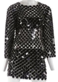 Dress Paco Rabanne, 1969 Christie's