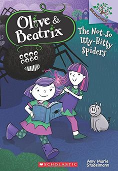 """Read """"The Not-So Itty-Bitty Spiders (Olive & Beatrix by Amy Marie Stadelmann available from Rakuten Kobo. This series is part of Scholastic's early chapter book line called Branches, which is aimed at newly independent readers. Pet Spider, Wonder Pets, Writing Fantasy, Long Books, Owl, Chapter Books, Twin Sisters, Kids Boxing, Funny Stories"""