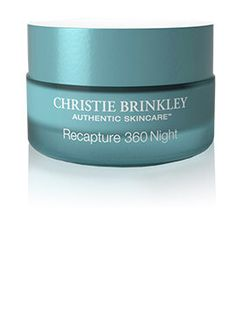 Christie Brinkley Skincare bio-clock recapture 360 anti aging night cream