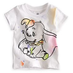 Dumbo Tee for Baby | Clothes | Girls | Baby (0-24M) | Disney Store