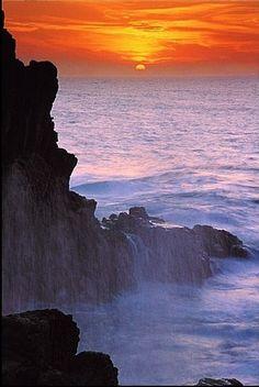 """""""Primavera #Barilla en Italia , La Spezia, porque existen lugares donde se pueden apreciar bellas puestas de sol"""""""