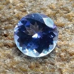 Natural Round Cut Tanzanite 1.00 Carat