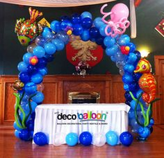 Balloon Decoration, My Deco Balloon Under the Sea Balloon Decorations