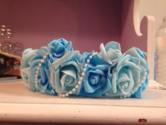 Flower crown. by LucyannetteCreations on Etsy