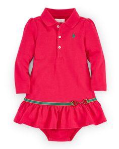 Equestrian Dress & Bloomer - Baby Girl Dresses & Skirts - RalphLauren.com