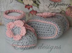 Crochet patterncrochet bootiescrochet di elifinedesigns su Etsy