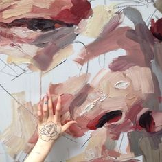 """ellysmallwood: """" 5ftx4ft, hand for scale """""""