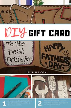 Since the celebration of Father's Day is getting near, there are lots of gift resources online that you might consider in choosing the perfect gift for all the men in your life either for your beloved father, husband or to anyone who is a father figure to you! Gift ideas are endless and almost all that are on the list requires you money but it's not really necessary, there are ways to make your own.