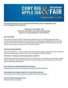 CUNY Big Apple Job Fair