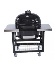 Primo Oval Junior Grill W/ Cart U0026 Side Table   Kamado XL Sq In)