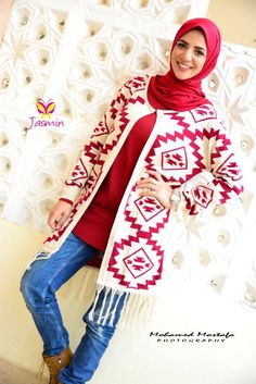 fashion hijab trends for girls, Christmas hijab casual wear http://www.justtrendygirls.com/christmas-hijab-casual-wear/