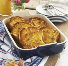 While we're Team USA all the way, we do want to pay homage to our heritage during these Olympic Games with a Parisian-themed start to your morning. Il est magnifique!      http://www.surlatable.com/product/REC-213186/Orange-Scented-French-Toast-Strata-with-Candied-Lemon-Zest