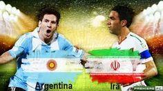 BLOG DO MARKINHOS: Argentina faz 1 a 0 contra Irã nos acréscimos e ga...