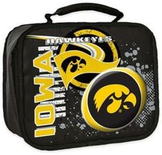 NCAA University of Iowa Accelerator Insulated Lunch Box