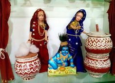 Lord Gopala and Gopikas – Art/Craft Work