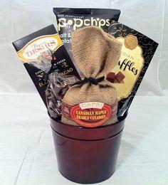 Snack time gift basket. $30.00.  www.simontea.com