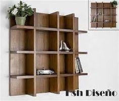 Resultado de imagen para biblioteca moderna living