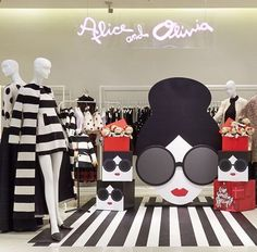 "LANE CRAWFORD,Hong Kong, China, ""Alice&Olivia.....Give Something Special"", pinned by Ton van der Veer"