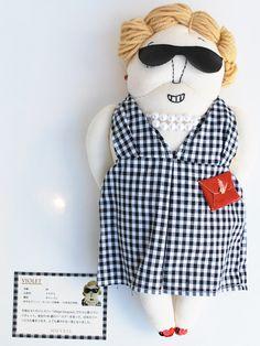 Accessoires MUVEILMUVEILSALE MUVEIL Oma Doll productdetails [FLEUR coltd Web Shop]