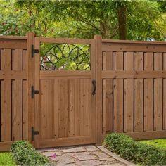 Beau Similar Ideas. 3.5 Ft. X 6 Ft. Cedar Fence Gate With Sunrise Insert 201569