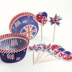Great Britain Cake Decoration Set