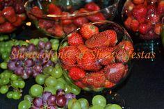 Showcofonte & Showcofesta: Frutas Fresquinhas, Selecionadas e Deliciosas para acompanhar o Chocolate.