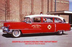 1955 Cadialac Rescue Squad #Setcom #Fire http://setcomcorp.com/twin-talk-fire-wireless-headset.html